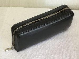 財布のファスナーと色ハゲアフター